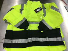 Tingley J24122 ICON 3.1 Hi-Vis Lime Jacket, Waterproof Class 3 Size 5X