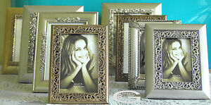 "Photo Frames Vintage Picture Frame Antique Ornate Frame 6x4"" 5 x 7'' 10x8"" A4 *"