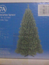 NEW - BAVARIAN SPRUCE - ARTIFICIAL CHRISTMAS TREE - 7 FT - 1046 TIPS
