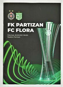 2021, PARTIZAN Serbia v FLORA Estonia! OFFICIAL programme!