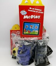 Justice League 2019 Mc Donald's Happy Meal Toys Set of 8 with Boxes
