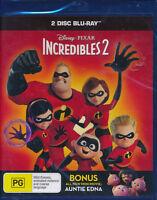 Incredibles 2 Blu-ray Bluray NEW 2-disc Disney Pixar