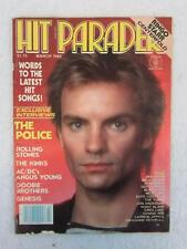 HIT PARADER March 1982 STING Cover Photo RINGO STARR Centerfold
