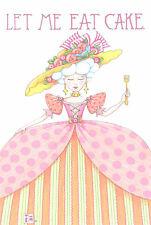 Mary Engelbreit-Let Me Eat Cake Marie Antoinette-Blank Card/Envelope-New!