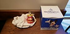 Genuine Red Disney Mickey Mouse Happy Birthday Christmas Ball Tree Ornament NWT