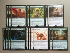 MTG White Green Renown Magic Deck Modern Honored Hierarch Outland Colossus ORI