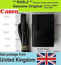 Caricatore ORIGINALE PER CANON CB-2LDe NB-11L IXUS 240 HS 150 155 157 160 165 è