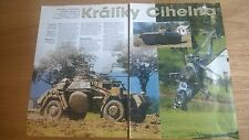 5 Page sides Article on Kraliky Cihelna Czech Military show Kraliky 2011 ?