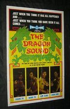 1974 YU WANG Si da tian wang DRAGON SQUAD 4 top martial arts street fighters