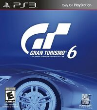 NEW Gran Turismo 6  (Sony Playstation 3, 2013) NTSC