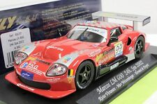 FLY A362 MARCOS LM600 SPA 2002 NEW 1/32 SLOT CAR IN DISPLAY CASE -HARD TO FIND-
