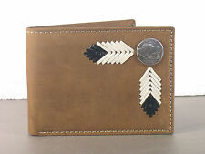 Buffalo Nickel Western Bifold Wallet Billfold Bi-fold