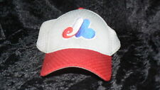 PROFLEX  Vintage MONTREAL EXPOS  HAT / CAP  Fitted Size  MEDIUM / LARGE