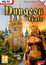 DUNGEON GATE - Rare Classic RPG Dungeons PC Game - Windows XP, Vista, 7, 8 - NEW