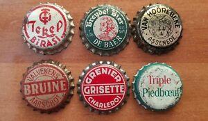 lot 6  beer caps  corks