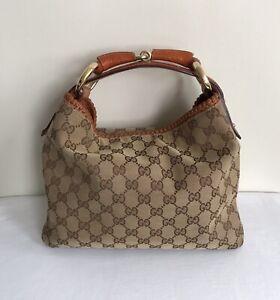 Gucci GG Supreme Canvas Hobo Bag