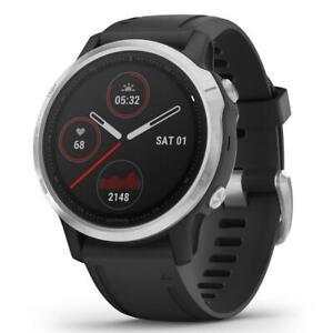 Orologio Garmin FENIX 6S Smartwatch Silicone Nero GPS GLASS 42mm 010-02159-01