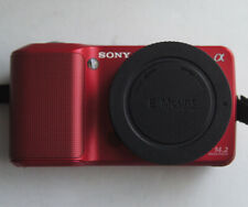 Sony NEX-3 14.2MP (Body Only) 4K Shutter count Silver Digital Camera