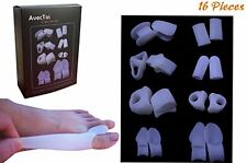 AvecToi Bunion Relief Variety Pack with 16 Pieces - Toe Separator, Toe Spacer,