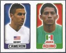 TOPPS ENGLAND 2014- #064-335-MEXICO-JAVIER AQUUINO-UNITED STATES-GEOFF CAMERON