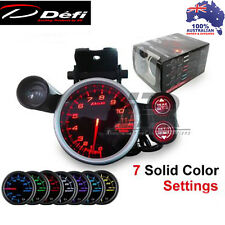 80mm Link Meter Racer Defi Style Gauge Tachometer 7 color setting 11000 RPM
