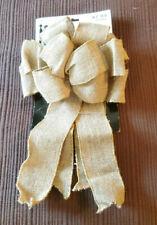 Studio His & Hers Burlap Wedding Bow New never used