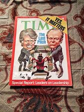 November 8, 1976 Time Magazine Yes, IT MATTERS (Wow) 111 Pages!