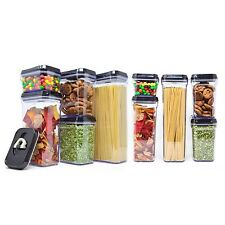 Royal Air-Tight Food Storage Container10-Piece Set - Durable Plastic BPA Free