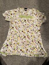 Baby Phat Scrub Shirt Medium 26866 Acai