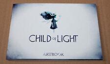 Child of Light RARE ARTBOOK ART BOOK ps3 ps4 XBOX ONE 360 Wii U