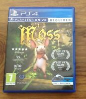 Moss PS4 PlayStation 4 PSVR Game . Free UK Postage
