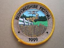 Bedfordshire Festival 1999 Cloth Patch Badge Boy Scouts Scouting L4K C