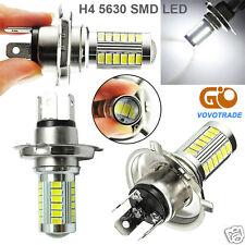 H4 Super Bright 5630 SMD 33-LED 12V Auto Car White Fog Lamp Light Bulb Driving