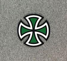Independent Truck Cut Cross Skateboard Sticker SMALL 2in green si
