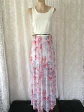 Size 8 Forever New Ladies Lisa 2-in-1 Printed Maxi Dress (porcelain/floral )