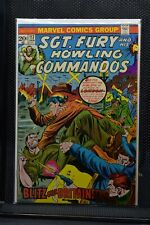Sgt Fury and His Howling Commandos #117 Marvel Comic 1974 Stan Lee Ayers 7.5
