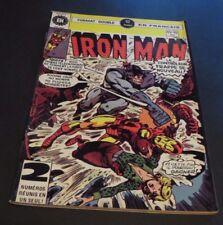 1977 IRON MAN #45-46 FRENCH CANADA HÉRITAGE EDITION RARE DOUBLE EDITION