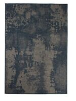 "5'3""x7'6"" Navy Vintage Faded, Bohemian Indoor Outdoor Area Rug - 1126"