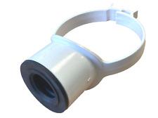 "White Soil Pipe 110mm 32mm 36mm Boss Clip Strap Boss 1 1/4"" Pushfit Adaptor"