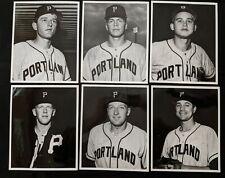 1963 Portland Beavers Pacific Coast League PCL Type 1 SIGNED Photos (17pc) - LOA
