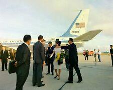 President John F. Kennedy and Jackie arrive in Houston Texas New 8x10 Photo