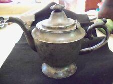 Antique Pewter Teapot, Richardson, Sgn. 1840,