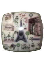 222 Fifth Tres Chic Paris Appetizer Plates (4)