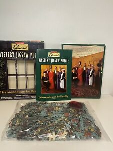 Cluedo Mystery Jigsaw Puzzle 'The Colour of Murder' 750 piece puzzle COMPLETE