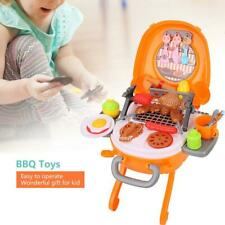 Kid Kitchen Rotisserie Grill Shop Barbecue Food Play House Toys