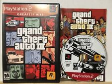 Grand Theft Auto III Greatest Hits (Sony PlayStation 2, 2003) Complete Cib