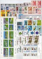 Canada - Lotto di 101 francobolli - Nuovi (** MNH)
