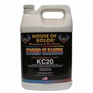 HOUSE OF KOLOR KC-20G POST SANDING CLEANER USE AFTER SANDING(GALLON) (HOK-KC20G)