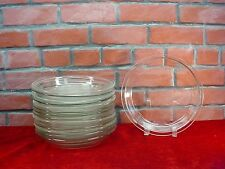 Corning Pyrex Clear Glass Oven & Microwave #209 PIE PLATES Pan ~YES, 14 of 'EM ~