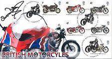 2005 motocicletas-Scott oficial-firmado por Murray Walker